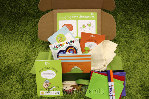 Kiwi Crate offers a bevy of treasures sure to spark a little someone's imagination. (Kiwi Crate-MCT)