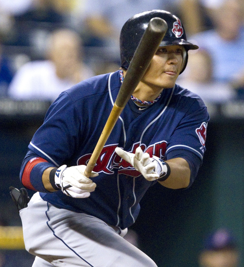 Cleveland Indians outfielder Choo Shin-soo is looking to bounce back from a disappointing season last year. (MCT)