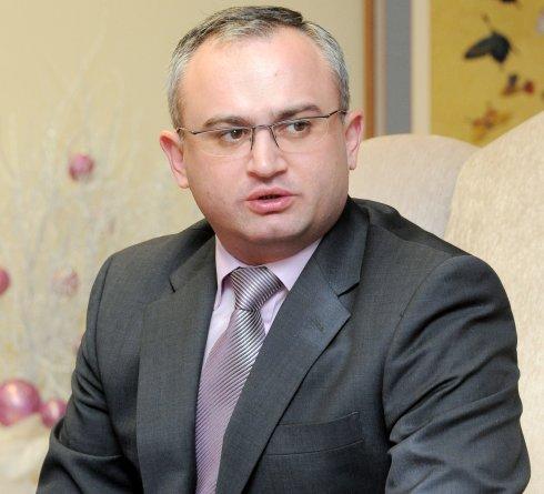 Georgian Energy Minister Alexander Khetaguri (Ahn Hoon/The Korea Herald)