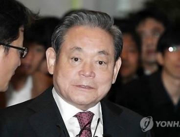 Lee Kun-hee (Yonhap News)