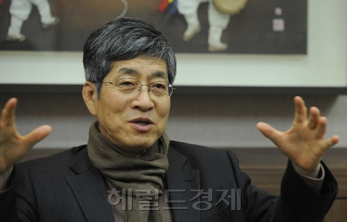 Bagh In-bae, president of Sejong Center for Performing Arts. (Lee Sang-sub/The Korea Herald)