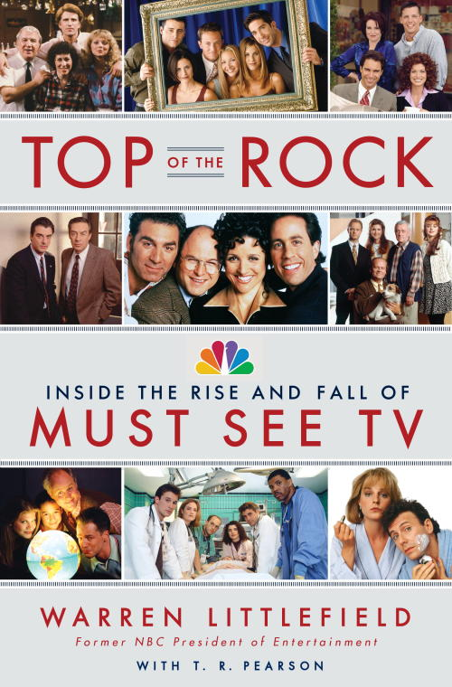 """""""Top of the Rock: Inside the Rise and Fall of Must See TV"""" by Warren Littlefield (AP-Yonhap News)"""