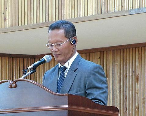 Director of Education for Jakarta, Dr. Taufik Yudi Mulyanto (Kirsty Taylor)