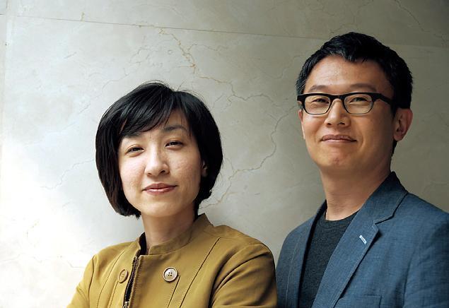 Kim Sun-hyun and Lim Yeong-hwan