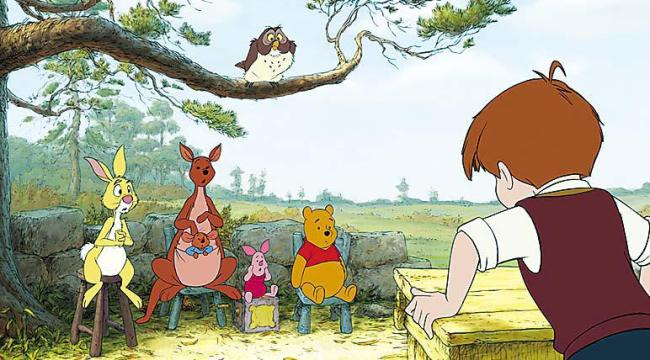 "A scene from the film ""Winnie the Pooh"" (Bloomberg)"