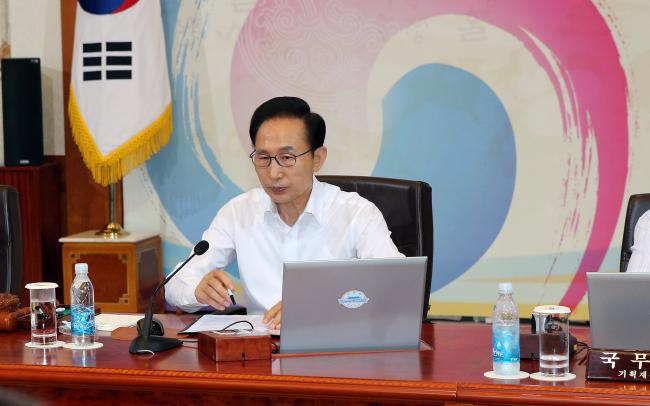 President Lee Myung-bak (Yonhap News)