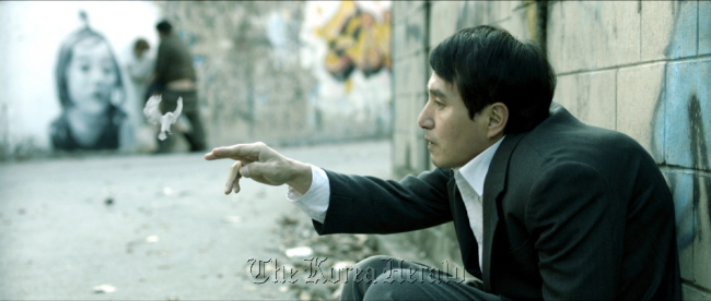 "A scene from director Jeon Kyu-hwan's film ""The Weight,"" which will compete in a sidebar section of the Venice Film Festival. (NEW)"