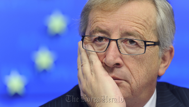 Jean-Claude Juncker, Luxembourg's prime minister and president of the Eurogroup (Bloomberg)