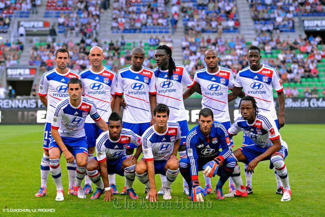 Hyundai renueva como main sponsor del Olympique Lyon hasta 2018