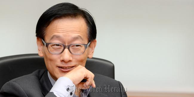 Oh Suk-geun, head of Hyundai Design Center ( <b>Ahn Hoon</b>/The Korea Herald) - 20121007000097_0