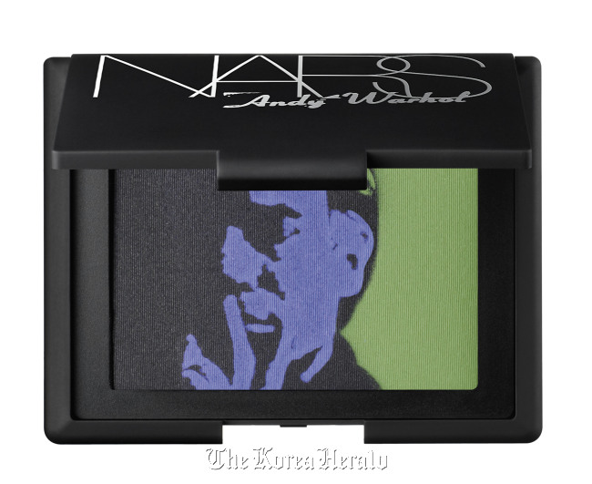 This undated product photo released by Nars Cosmetics shows eye shadow from the Andy Warhol collection. ( AP-Yonhap News)
