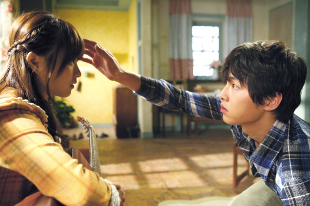 """A scene from Jo Sung-hee's first commercial film, """"A Werewolf Boy."""" (CJ Entertainment)"""