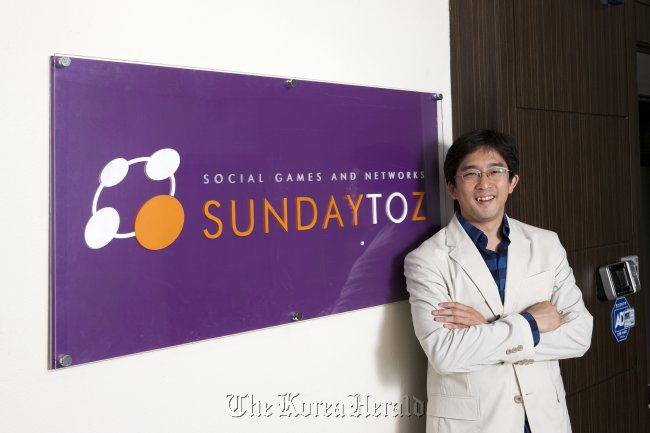 Sundaytoz founder and CEO Lee Jung-woong