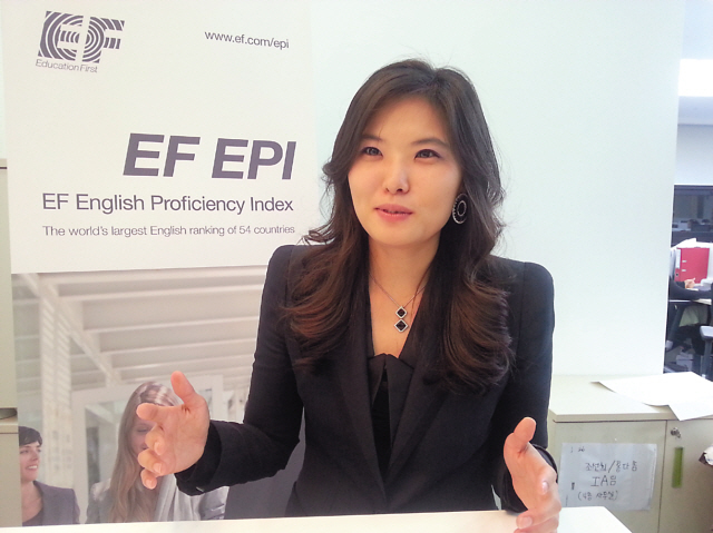 ... country manager of EF Education First Korea (EF Education First Korea