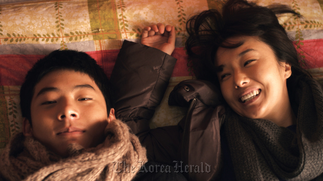 """A scene from Kang Yi-kwan's film """"Juvenile Offender"""" (Timestory)"""