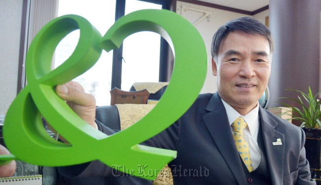 Lee Il-hwa, chairman of Good Neighbors. (Kim Myung-sup/The Korea Herald)