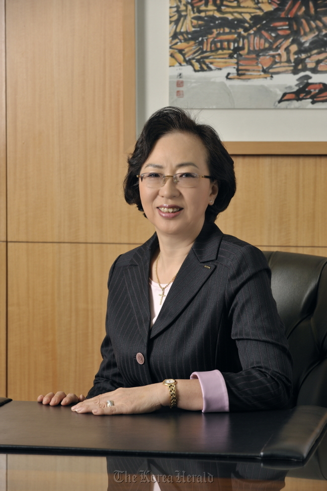 Park Kyung-sil, president of Pagoda Education Group (Pagoda)