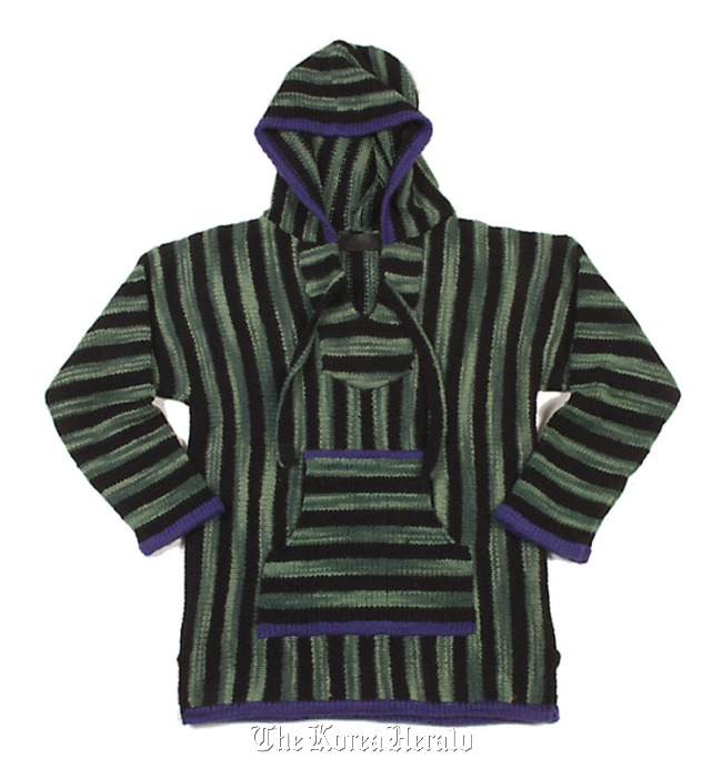 Lavender and Natural Baja / Emerald and Black Baja is from The Elder Statesman. Price: $2,100. (Los Angeles Times/MCT)