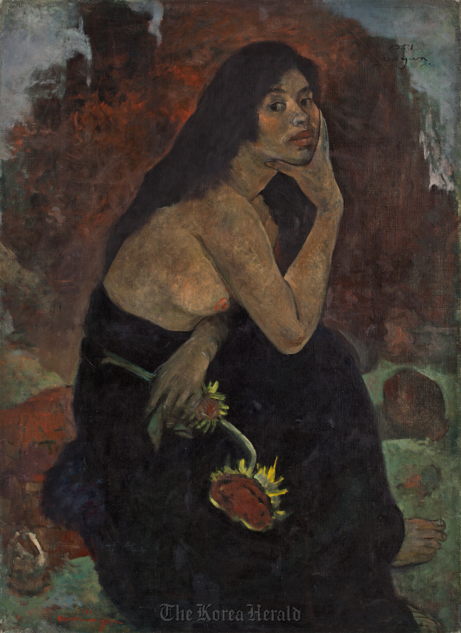 """""""Wife"""" by Kwon Ok-yeon, 1951. ( Lotte Gallery)"""