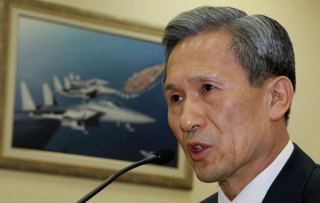 Minister of National Defense Kim Kwan-jin (Yonhap News)