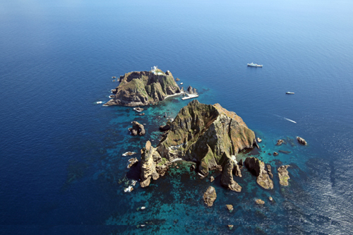 dokdo takeshima island dispute