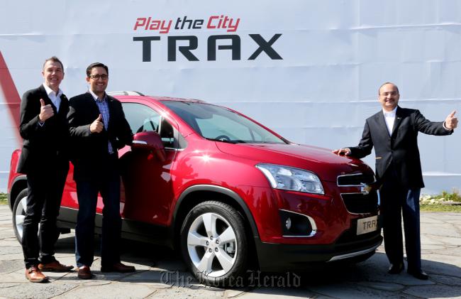 Korea Made Chevrolet Trax Unveiled