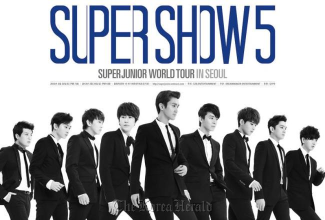Super Junior. (S.M. Entertainment)