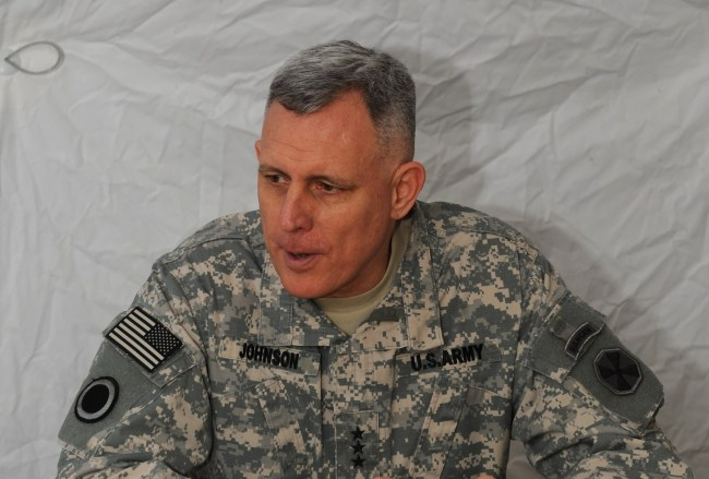 8th U.S. Army Commander Lieut. Gen. John D. Johnson (EUSA)