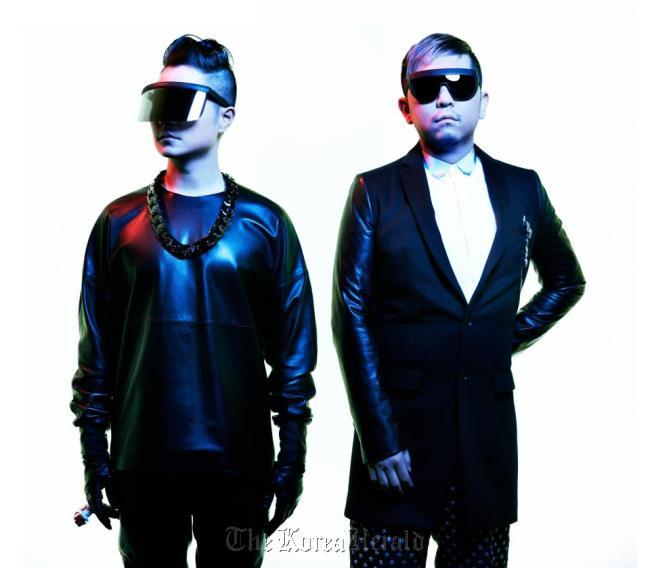 Verbal (left) and DJ Taku Takahashi of Japanese electronica hip-hop duo M-Flo. (M-Flo)