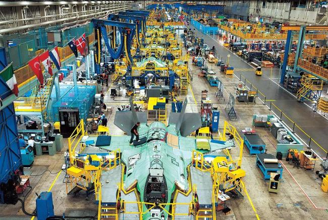 Lockheed Martin's F-35 factory at Forth Worth, Texas (USAF)