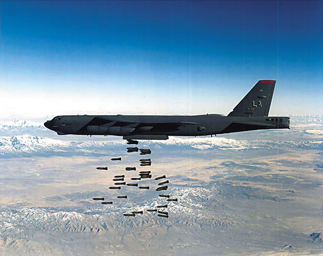 A U.S. Air Force B-52 Stratofortress heavy bomber (U.S. Department of Defense)