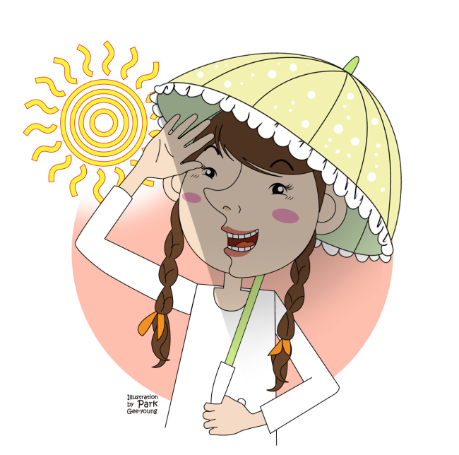 Block UV rays to slow skin aging
