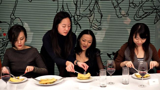 Women at the Institute Sarita are tutored in international and manners. (Institute Sarita)