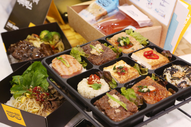 Boxed meals will be available for passengers to purchase before boarding their trains at Seoul Station starting in June. The Korea Railroad Corporation plans to offer 40 different options. (The Korea Railroad Corporation)