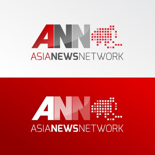 Asia News Network's new logo symbolising Emerging Asia has been designed by Pierre-Emmanuel Michel, a graphic designer and photographer from France. (Asia News Network)