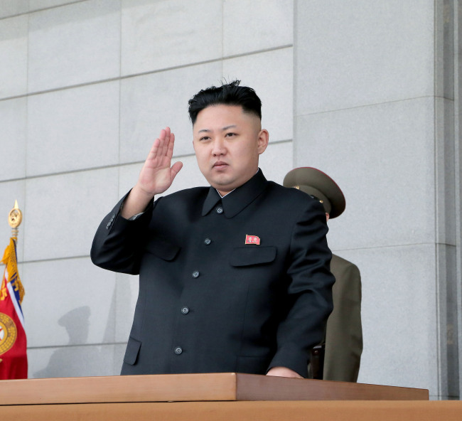 North Korean leader Kim Jong-un.(Yonhap News)