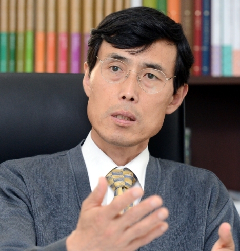 Bae Young-soo, Dean of College of Humanities at Seoul National University (Ahn Hoon/The Korea Herald)