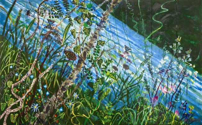 """""""Summer"""" by Kim Chong-hak. (Gallery Hyundai)"""