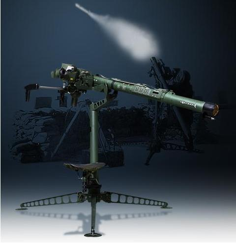 The portable surface-to-air missile called the Chiron. (LIG Nex 1)