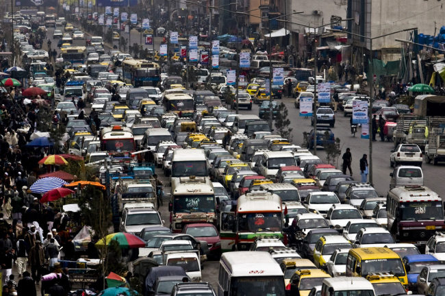 Addressing Traffic Problems In Kabul Key To Afghan Security
