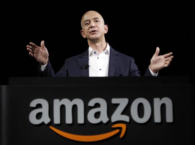 Amazon.com founder Jeff Bezos (AP-Yonhap News)