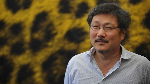 Director Hong Sang-soo, winner of the Best Director award at this year's Locarno International Film Festival in Switzerland. (Locarno International Film Festival)