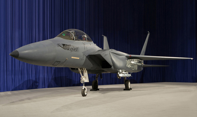 Boeing's F-15 Silent Eagle (Yonhap News)
