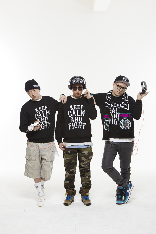 From left: Zito, D Theo and Nuck from Soul Dive. (Soul Dive)