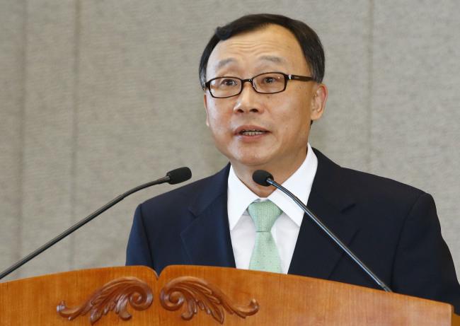 Prosecutor General Chae Dong-wook (Yonhap News)
