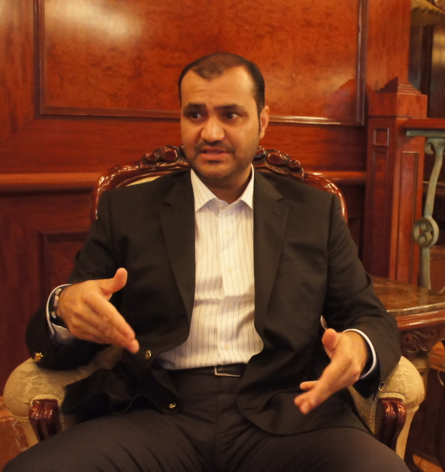 Mahmood Al Hashemi, general manager of the Ajman Free Zone Authority, in the United Arab Emirates