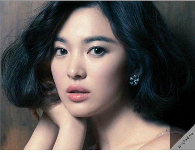 Song Hye-kyo (official homepage of Song Hye-kyo)