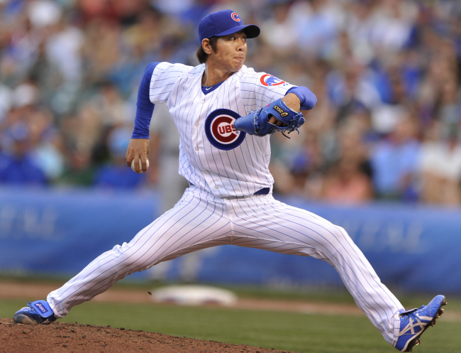 Chicago Cubs pitcher Lim Chang-yong (AP-Yonhap News)