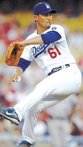 Former Los Angeles Dodgers pitcher Park Chan-ho (File photo)