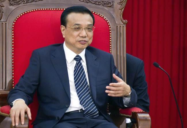 Chinese Premier Li Keqiang. (AFP-Yonhap News)